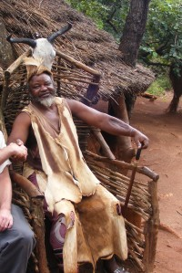 shangana cultural village south africa chief