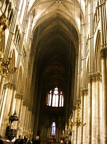 Reims Cathedral nave