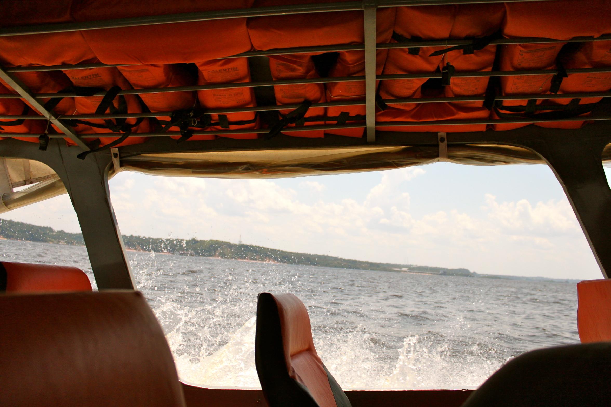 Rio Negro speedboat