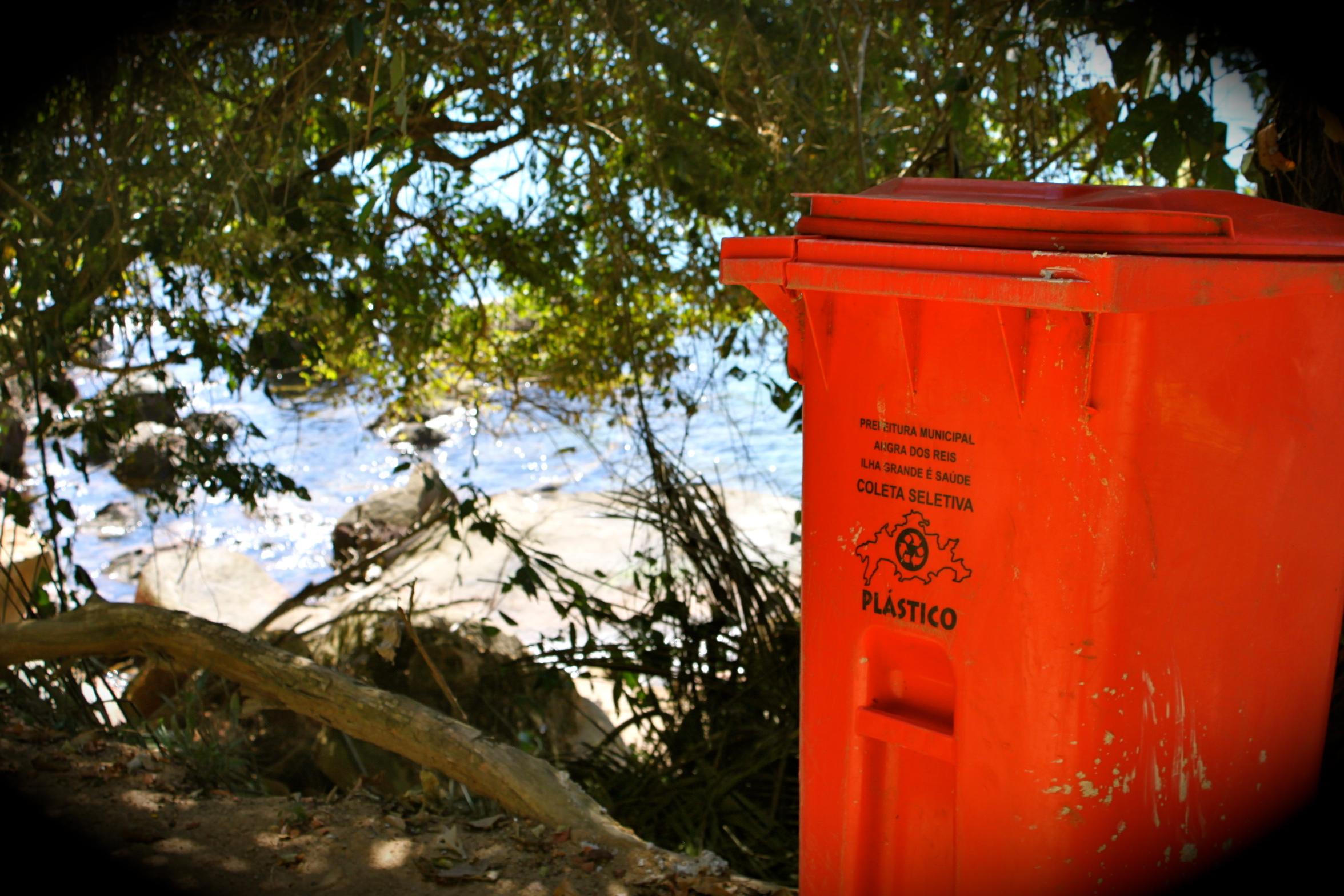 Recycling Ilha Grande