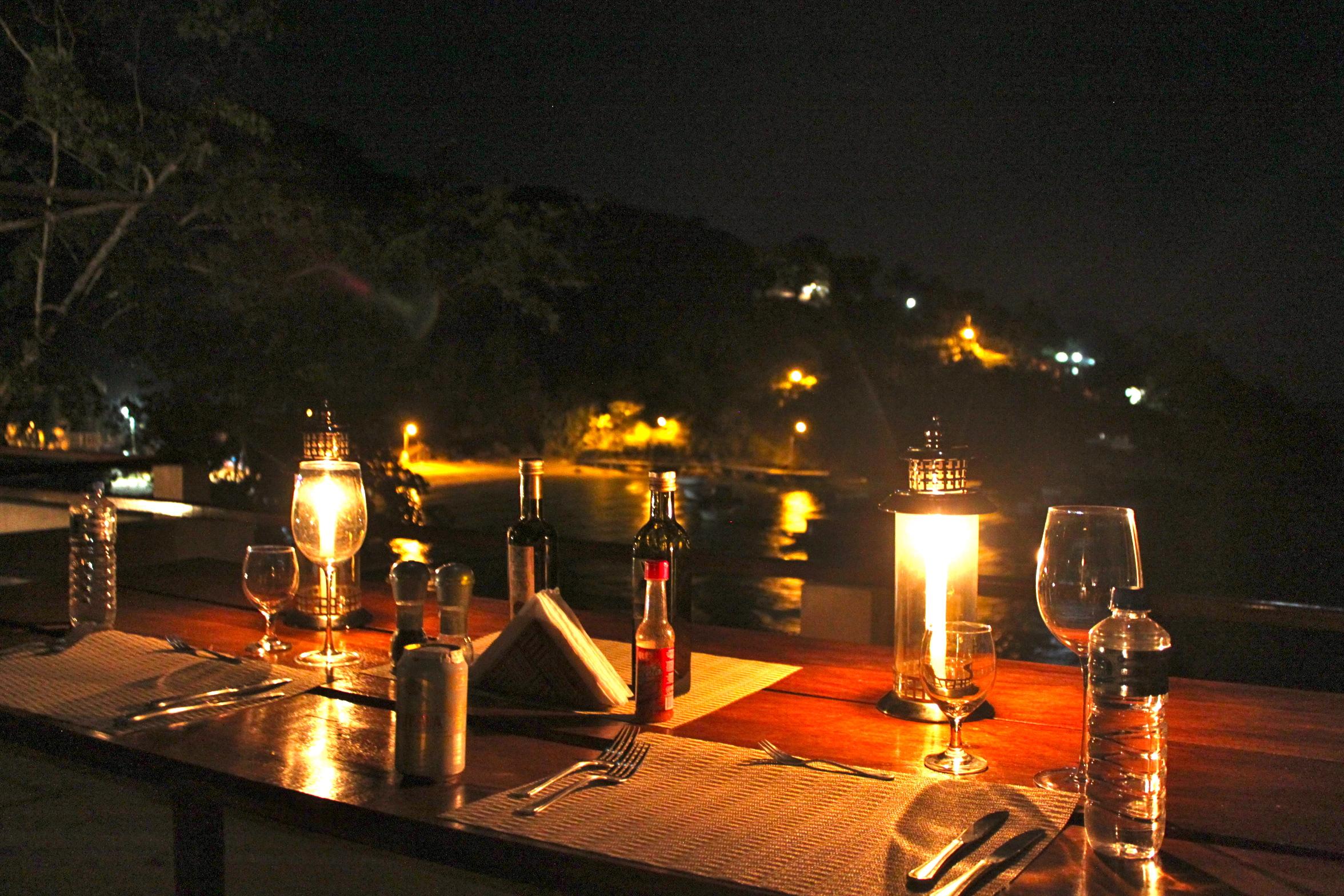 Dinner at Vila Pedra Mar