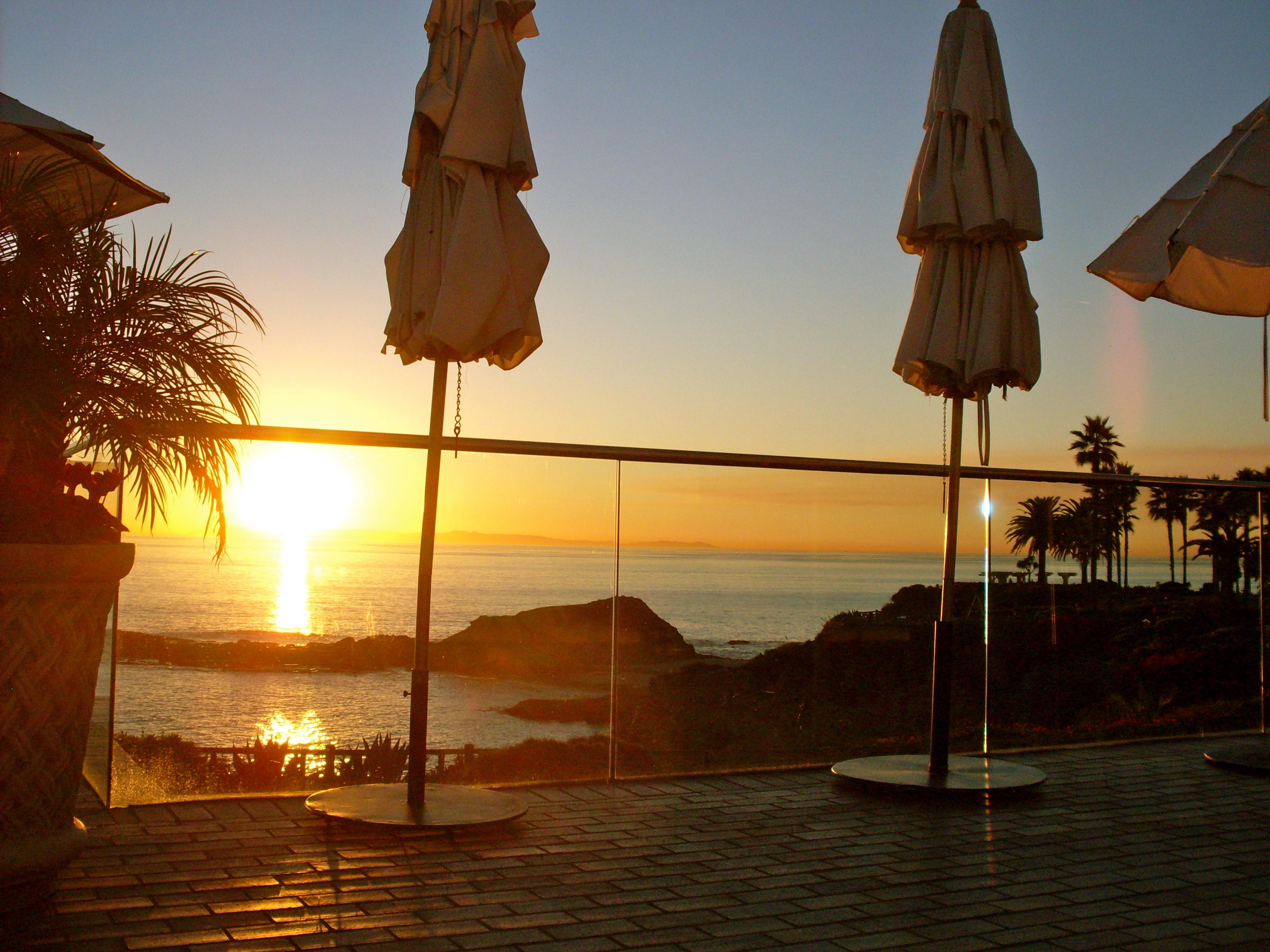 Sunset at the Montage Laguna Beach