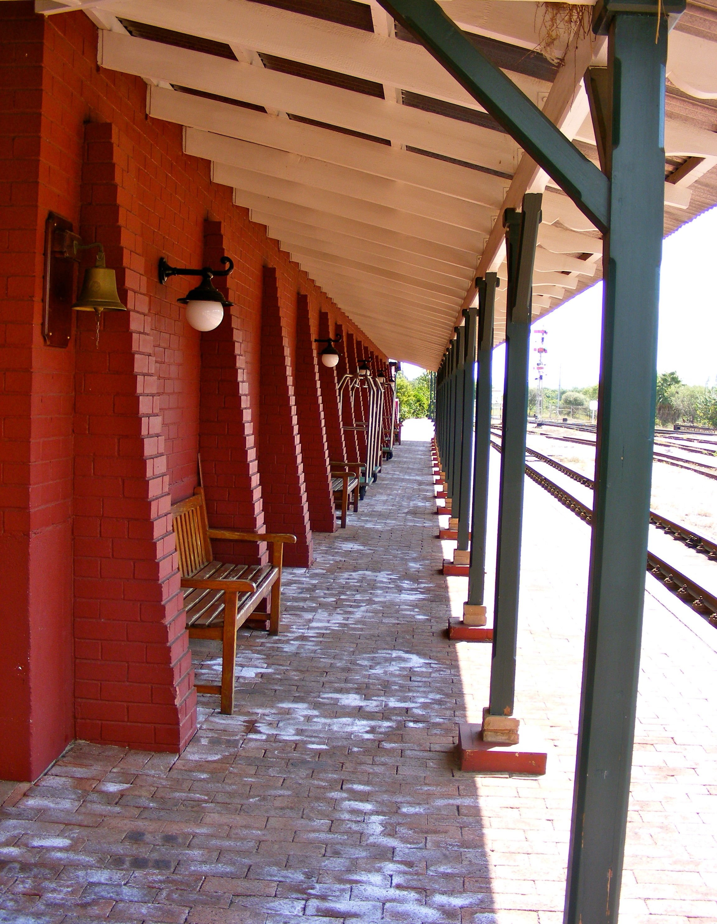 Rovos Rail Pretoria Station