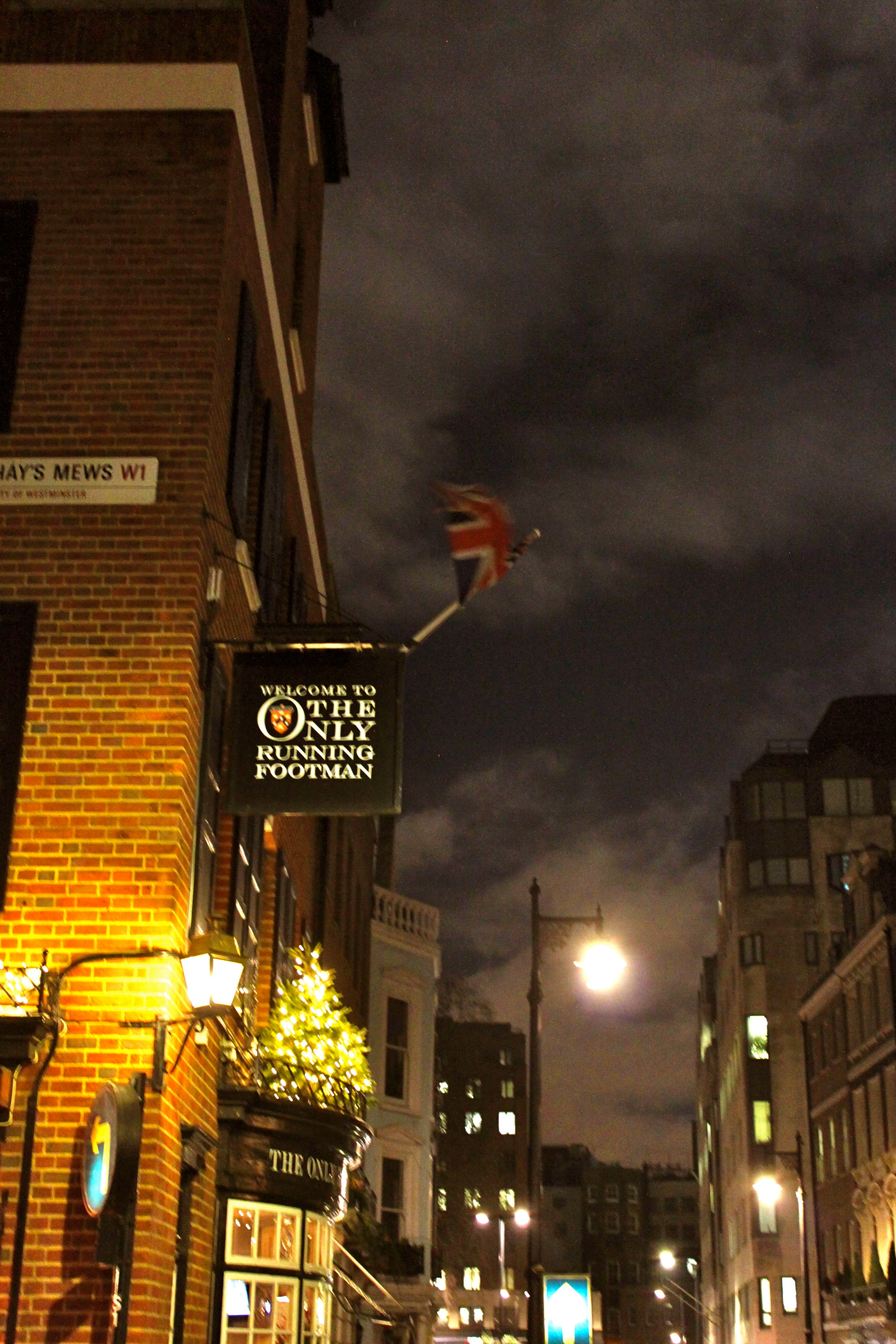 The One and Only Footman Pub London