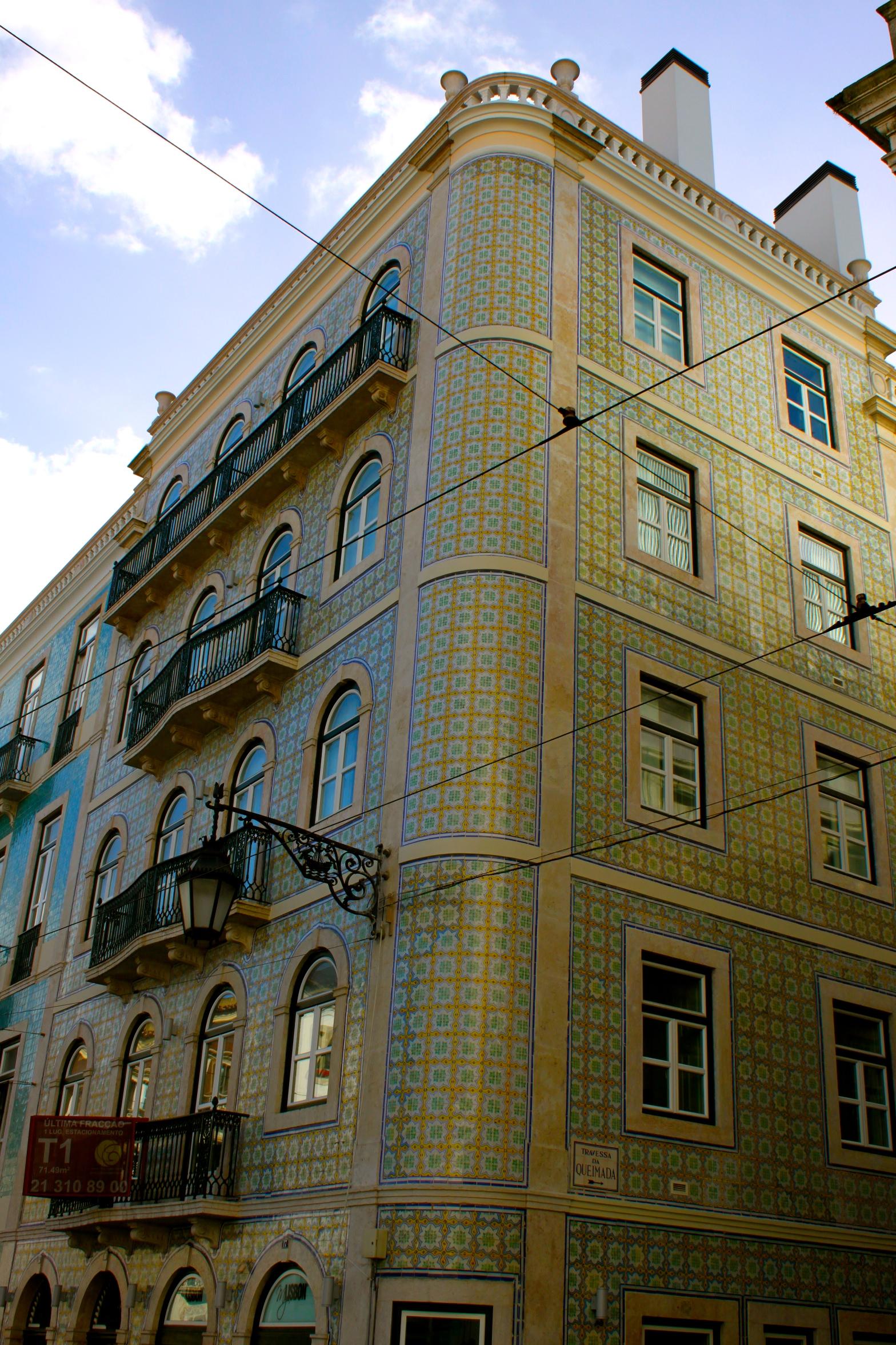 Tiled building Lisbon