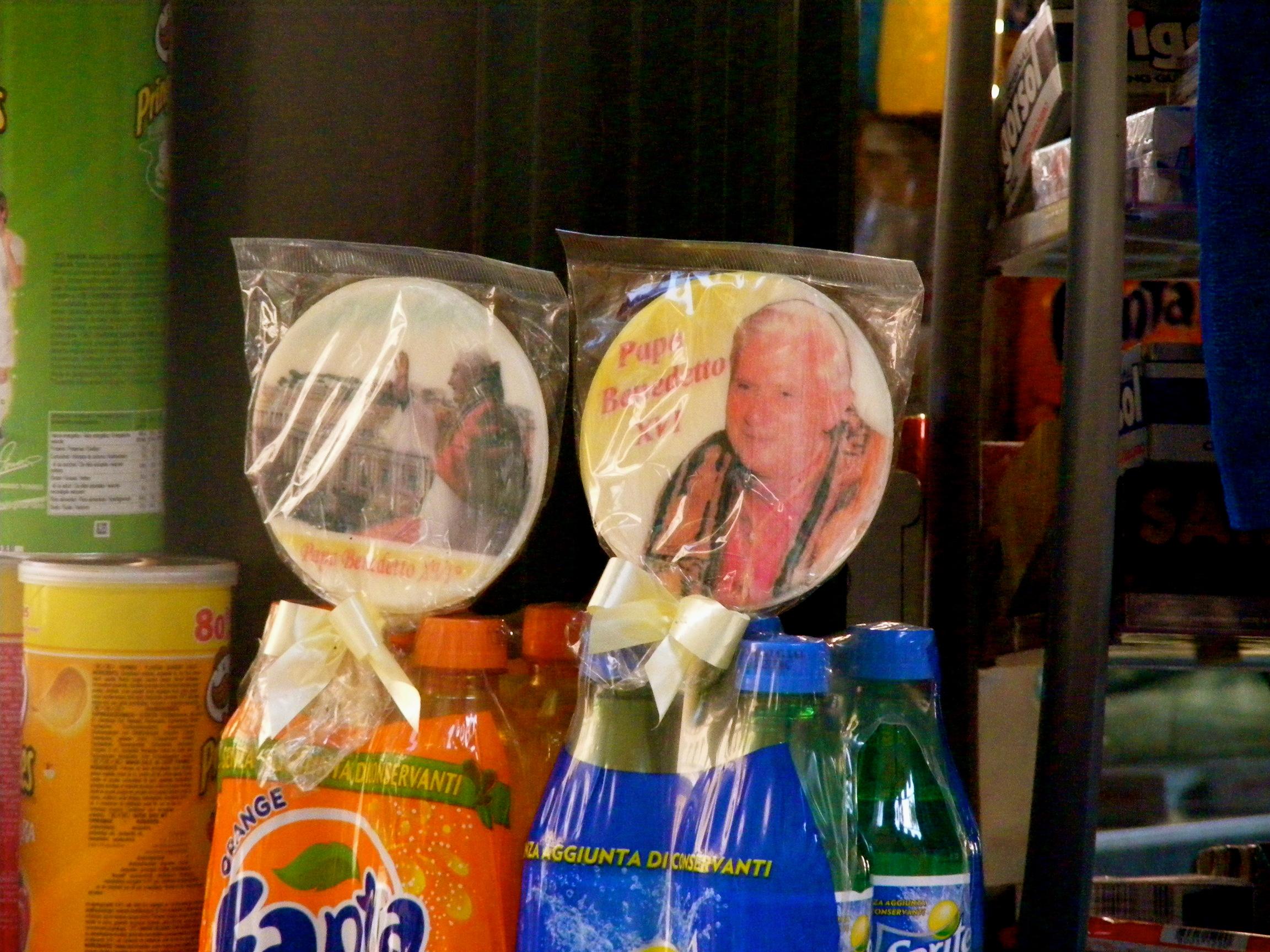 pope lollipop