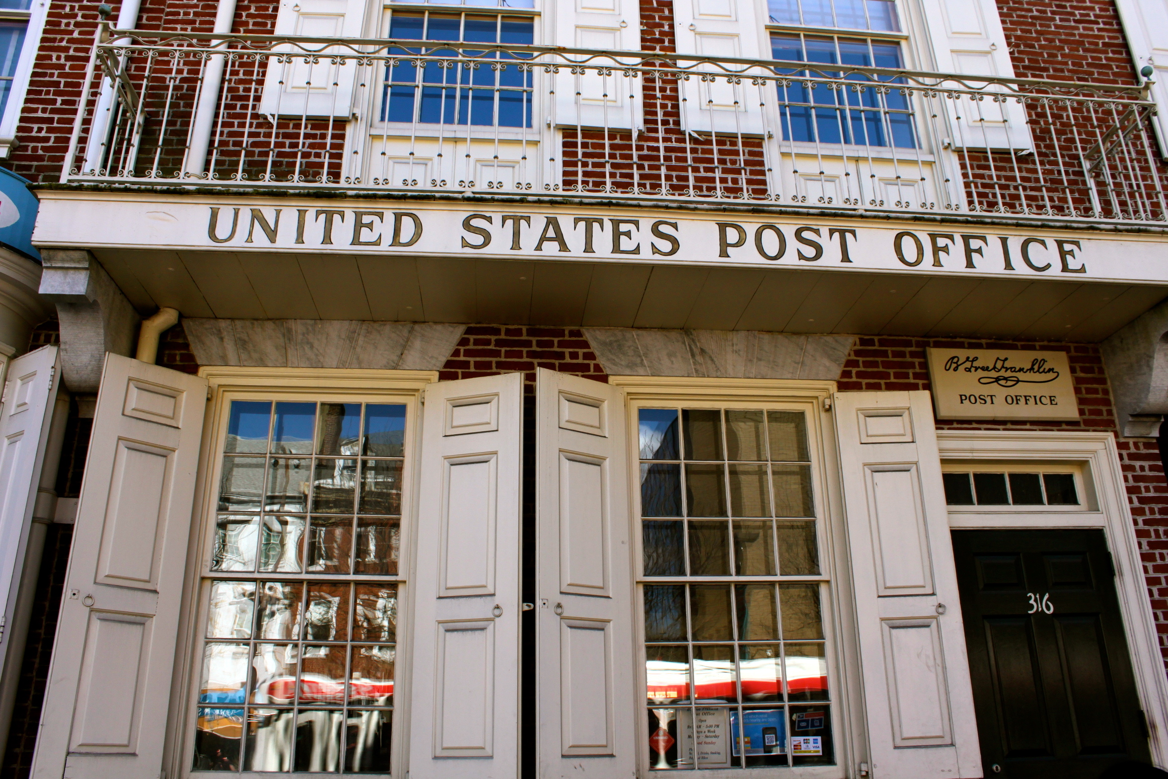 franklin post office philadelphia pennsylvania