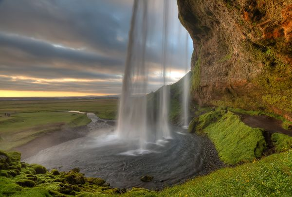 This.  Now.  (Please)  Seljalandsfoss waterfall will definitely be a stop along our path!