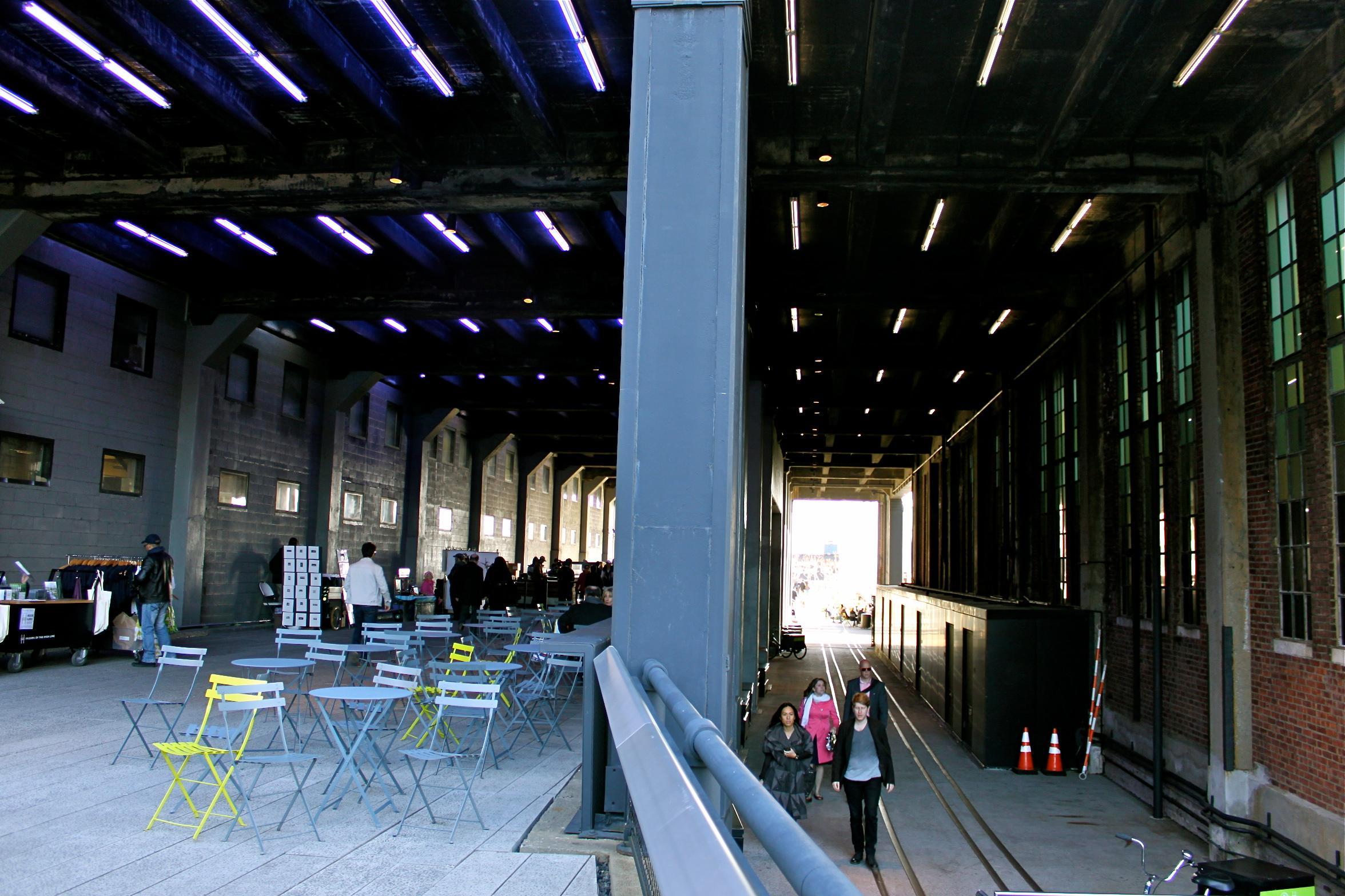 highline park chelsea market nyc
