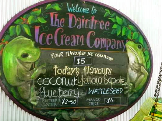 daintree ice cream company australia