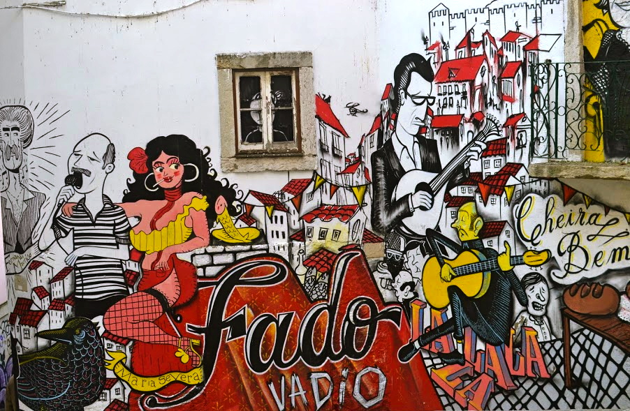 street art alfama lisbon portugal