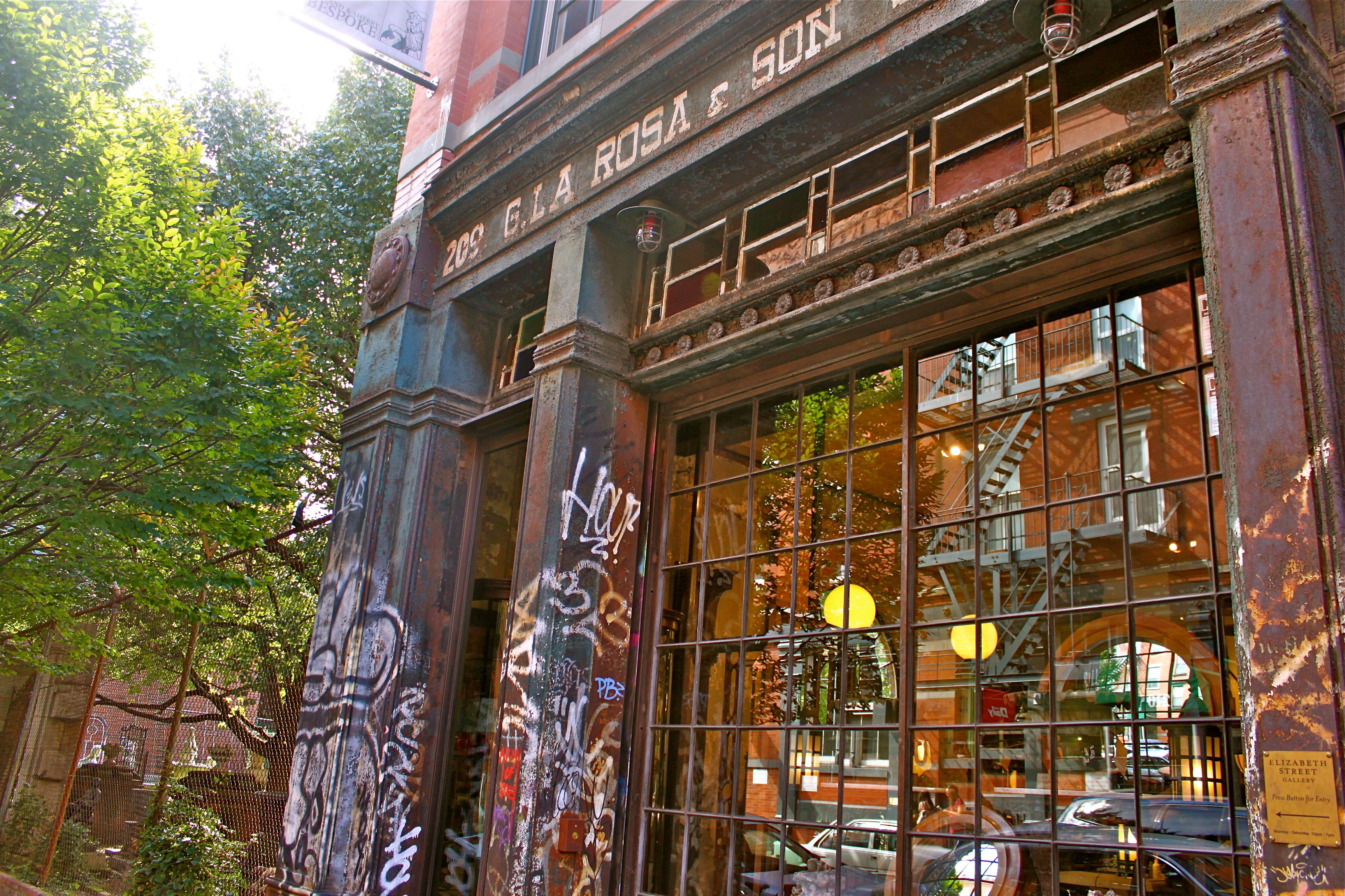 graffiti elizabeth st new york city