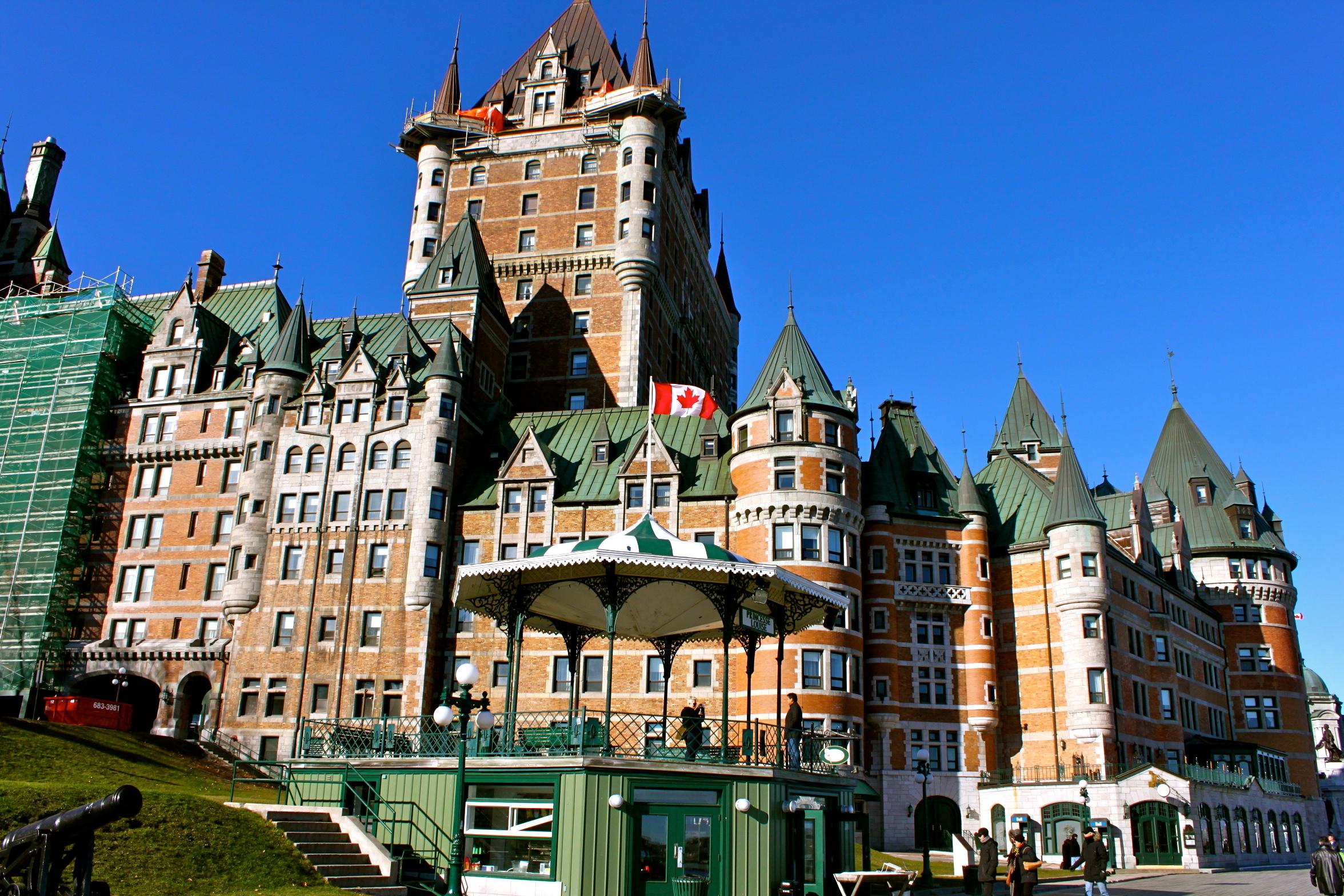 fairmont quebec city canada