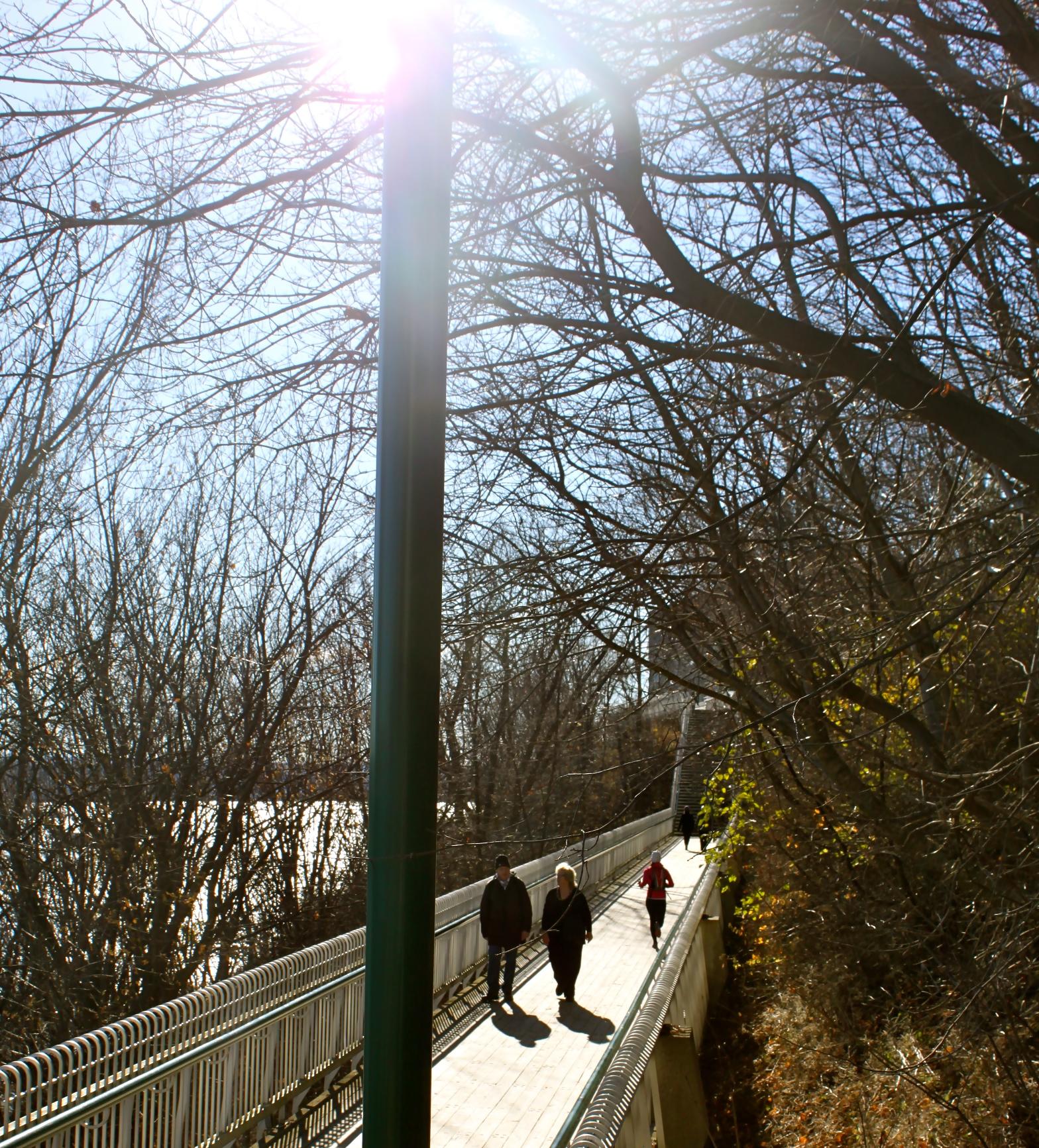terrasse dufferin quebec city canada