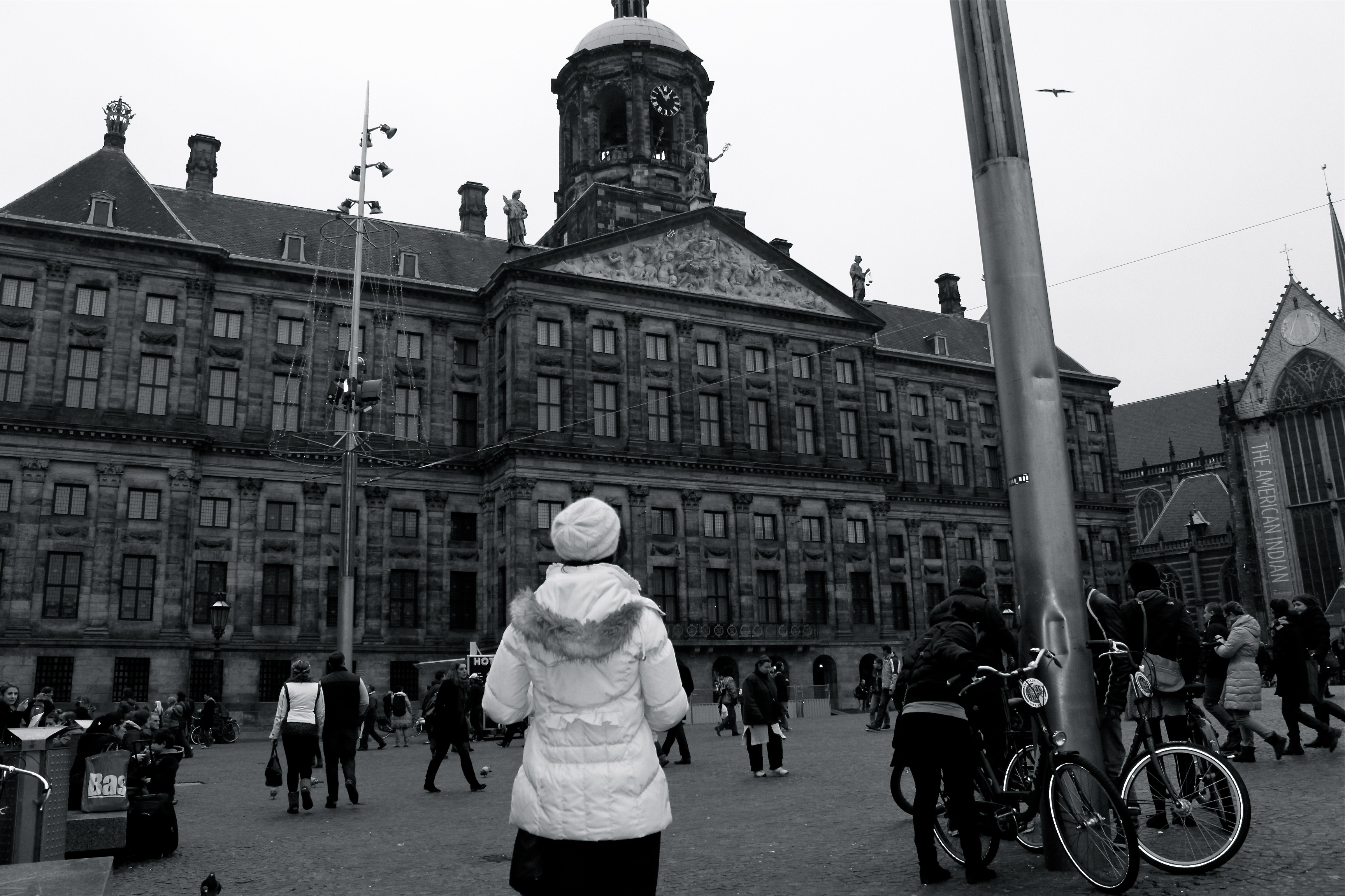 amsterdam netherlands royal palace dam square