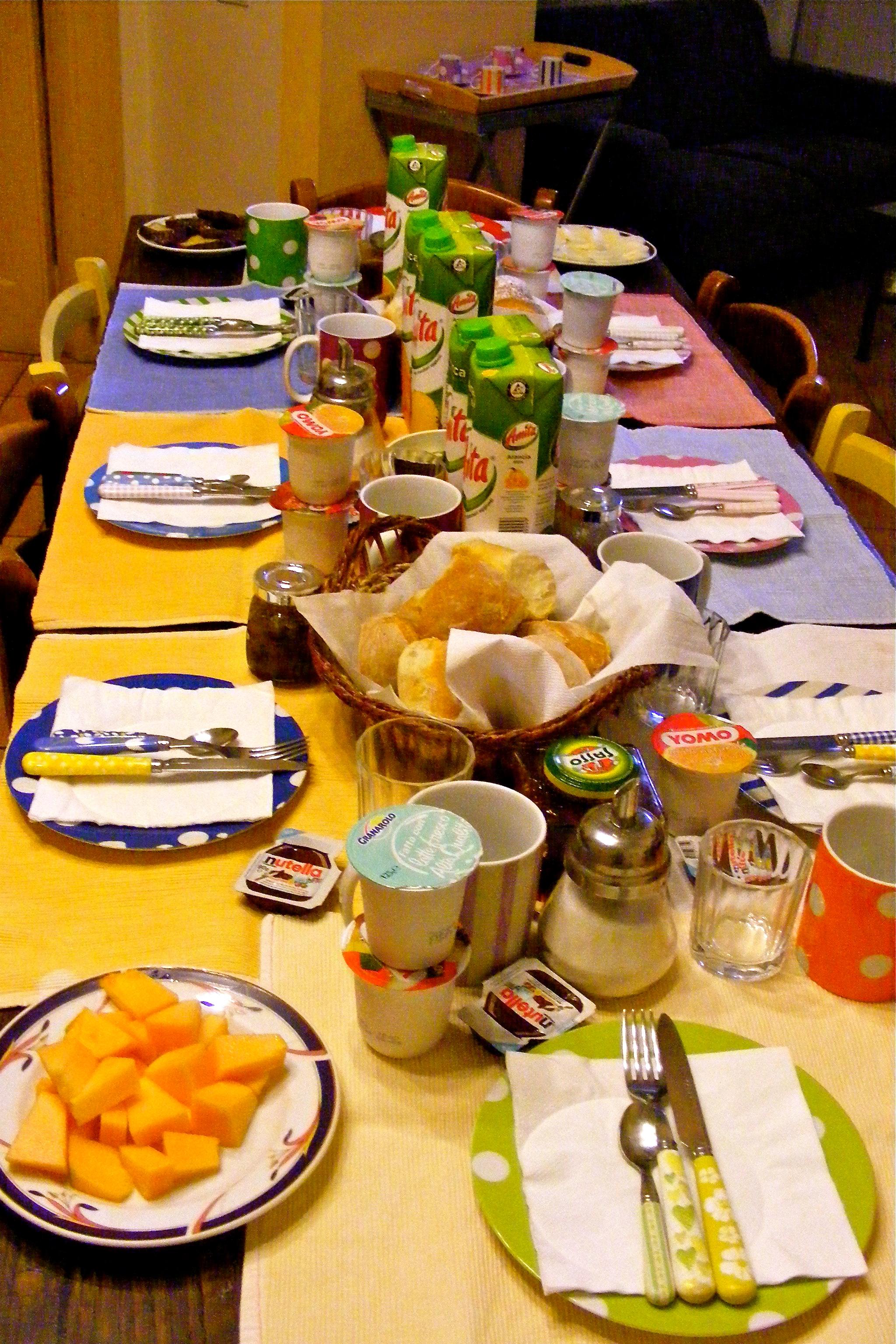 casa astarita sorrento italy breakfast