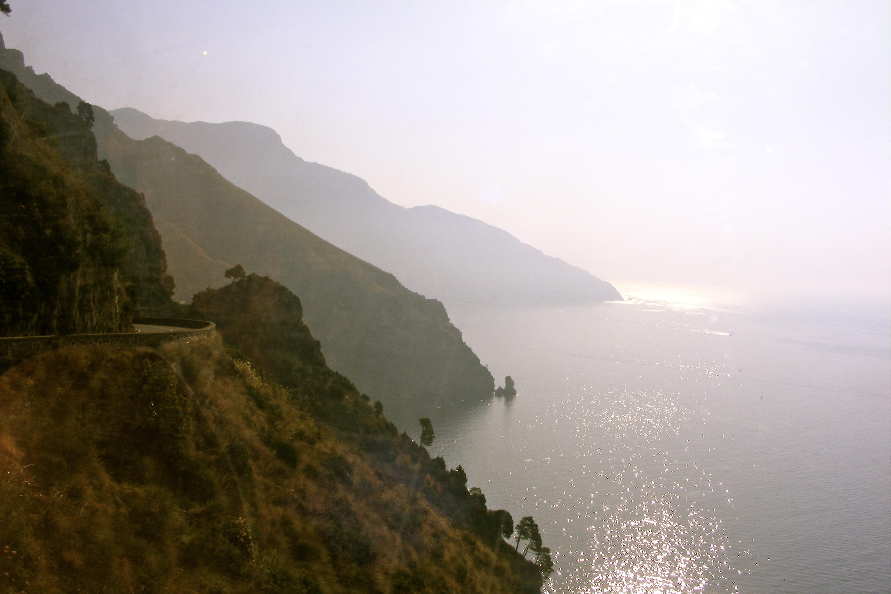 amalfi coast drive italy