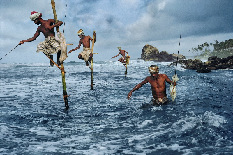 The stilt fishermen of Sri Lanka