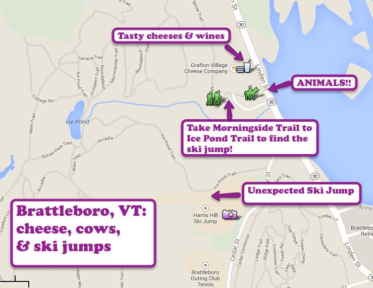 Brattleboro vermont road trip