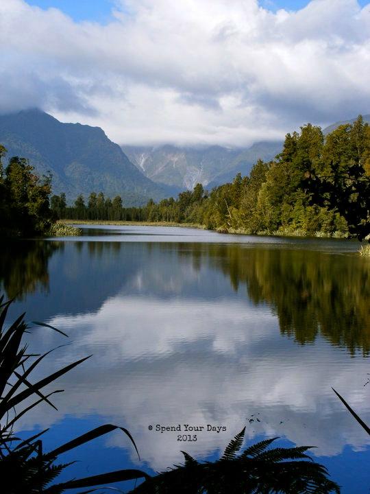 Mt Cook Lake Matheson Fox Glacier New Zealand south island